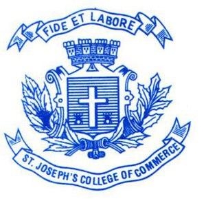 St. Joseph's College of Commerce - Image: Sjcc.logo