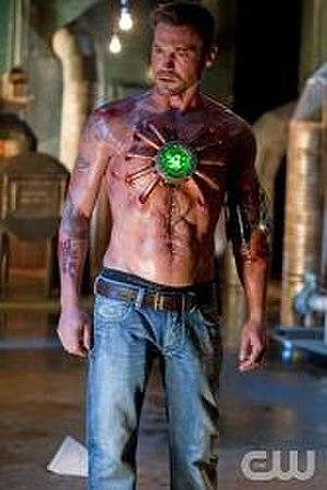Metallo - Brian Austin Green as John Corben on Smallville