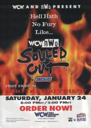 Souled Out (1998) - Image: Souled Out 98 poster