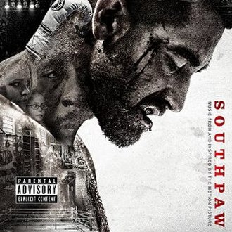 Southpaw (soundtrack) - Image: Southpaw (Music From and Inspired By The Motion Picture)