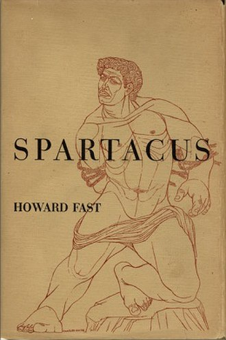 Spartacus (Fast novel) - Cover of the first US hardcover edition