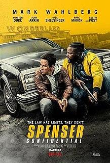 <i>Spenser Confidential</i> 2020 American action comedy film