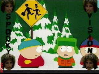Spookyfish 15th episode of the second season of South Park