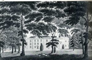 Streatham Park - Streatham Park as printed by William Ellis.