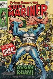 Orka (comics) Fictional comic book character