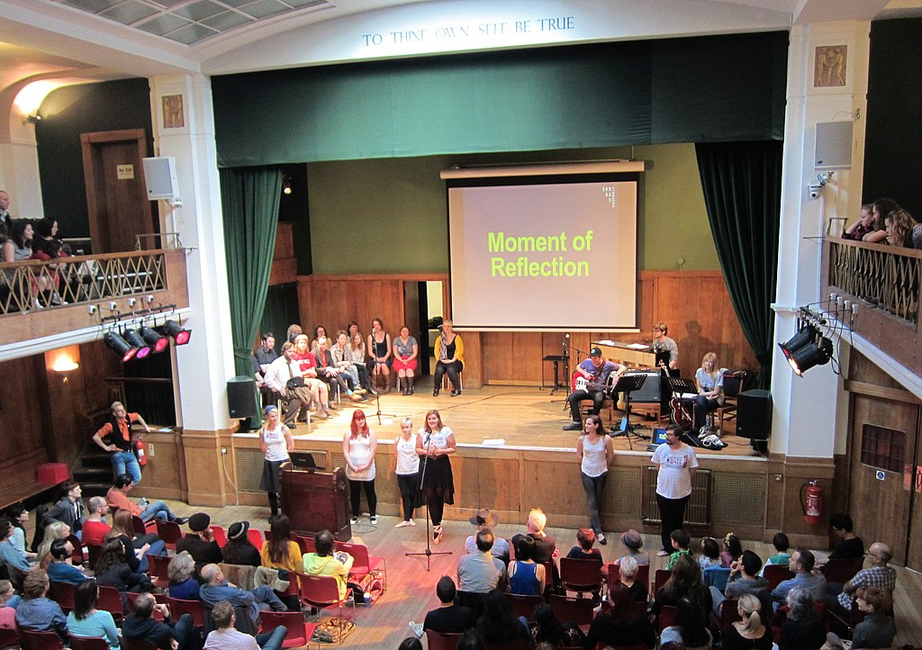 Sunday assembly at Conway Hall.jpg