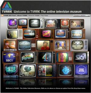 TVARK - Image: TVARK Homepage 2011