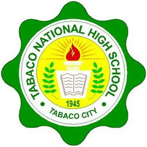 Tabaco National High School - Image: Tabaco National High School
