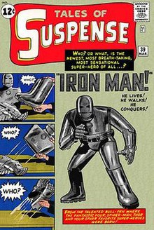 Iron Man First Comic Book Appearance