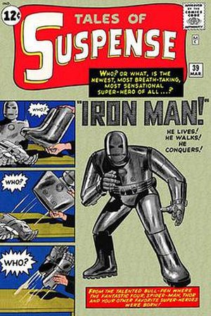 Iron Man - Image: Tales of Suspense 39