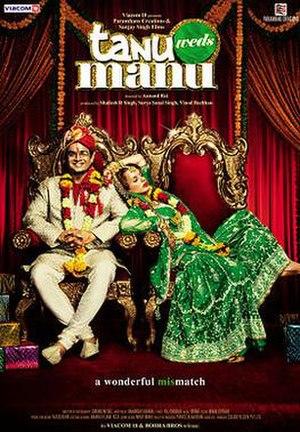 Tanu Weds Manu - Theatrical release poster