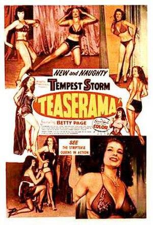 Irving Klaw - Teaserama film poster
