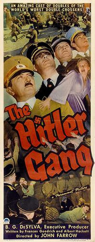 The Hitler Gang - Theatrical release poster