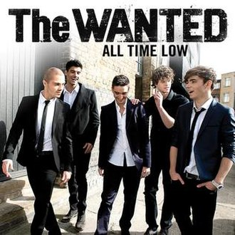 All Time Low (The Wanted song) - Image: The Wantedalltimelow U Scover