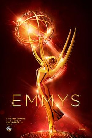 68th Primetime Emmy Awards - Promotional poster