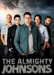 <i>The Almighty Johnsons</i> New Zealand fantasy comedy/drama television series