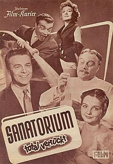 <i>The Crazy Clinic</i> 1954 film by Alwin Elling