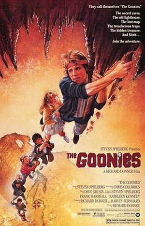 The Goonies - Theatrical release poster by Drew Struzan