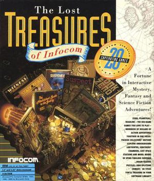 The Lost Treasures of Infocom - Image: The Lost Treasures of Infocom