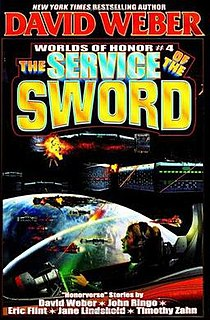 <i>The Service of the Sword</i> book by David Weber
