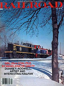 The cover of the final issue of Railroad Magazine, dated January 1979..jpg