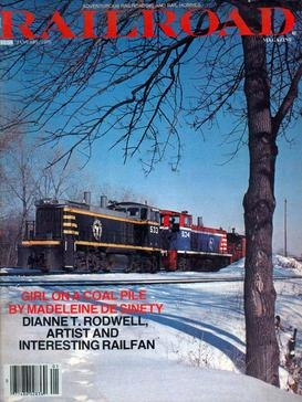 The cover of the final issue of Railroad Magazine, dated January 1979.