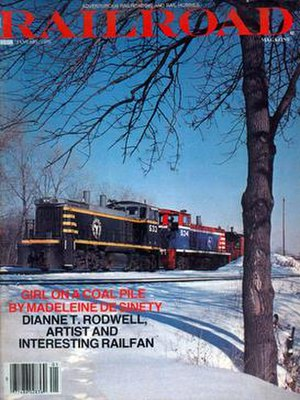 Railroad Magazine - Image: The cover of the final issue of Railroad Magazine, dated January 1979