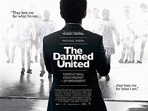 The Damned United - Theatrical release poster