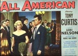 All American (film) - Lobby card