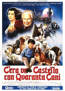 <i>There Was a Castle with Forty Dogs</i> 1990 film by Duccio Tessari