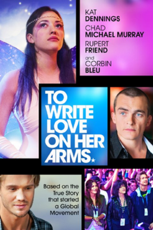 To Write Love on Her Arms (film) - DVD release poster