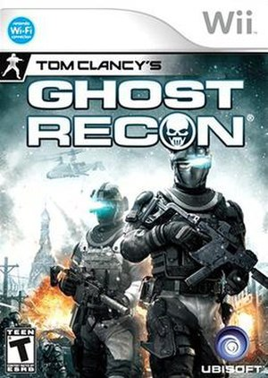 Tom Clancy's Ghost Recon (2010 video game) - Image: Tom Clancy's Ghost Recon Wii