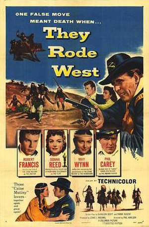 They Rode West - Image: Trwpos