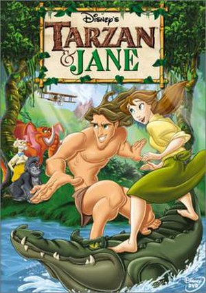 Tarzan & Jane - DVD case