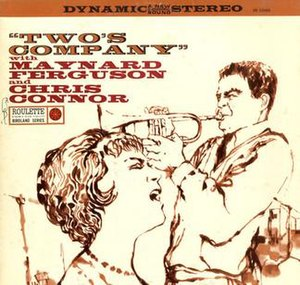 Two's Company (Maynard Ferguson and Chris Connor album) - Image: Two's Company (Maynard Ferguson and Chris Connor album)