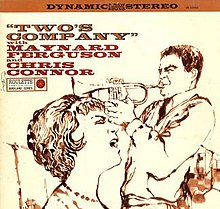 Two's Company (Maynard Ferguson and Chris Connor album).jpg