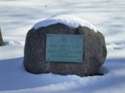 The site of the Van Buren Elm