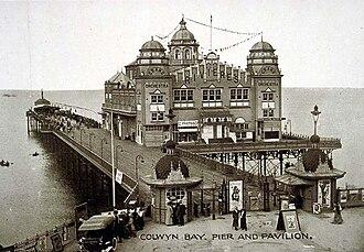 Victoria Pier - Victoria pier as originally constructed