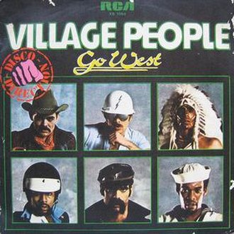Go West (song) - Image: Villagepeoplegowests ingle