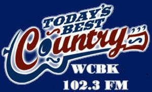WCBK-FM - Image: WCBK 102.3FM logo