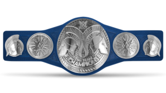 WWE SmackDown Tag Team Championship - The SmackDown Tag Team Championship belt