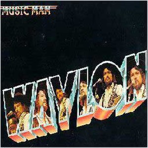 Music Man (album) - Image: Waylon Jennings Music Man