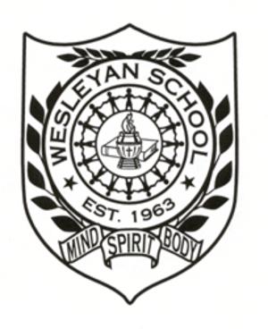 Wesleyan School - Image: Wesleyan Crest