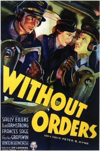 Without Orders - Theatrical film poster