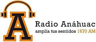 XEANAH-AM - Image: XEANAH Radio Anahuac 1670 logo