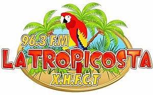 XHFCT-FM - Image: XHFCT latropicosta 96.3 logo