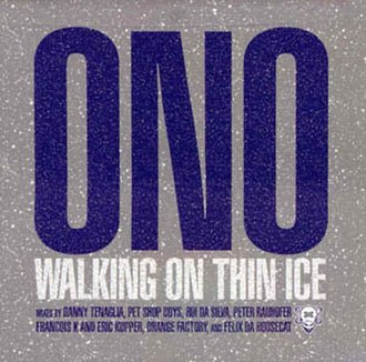 Walking on Thin Ice - Image: Yoko Ono Waking on Thin Ice (2003)