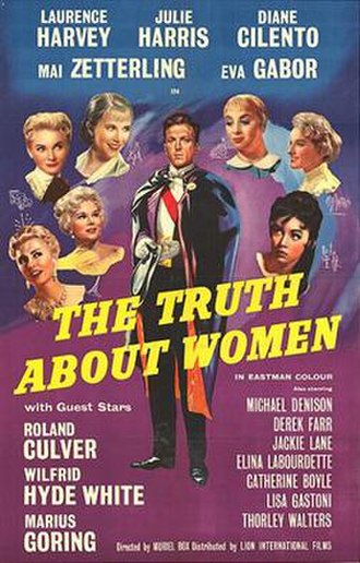 The Truth About Women - British 1-sheet poster