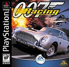 007 Racing US PlayStation box cover
