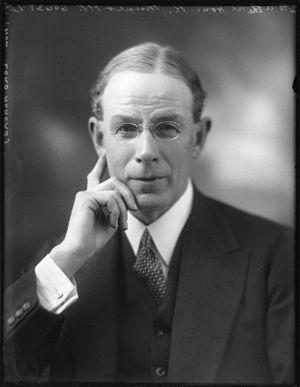 Robert Munro, 1st Baron Alness - Robert Munro in 1922